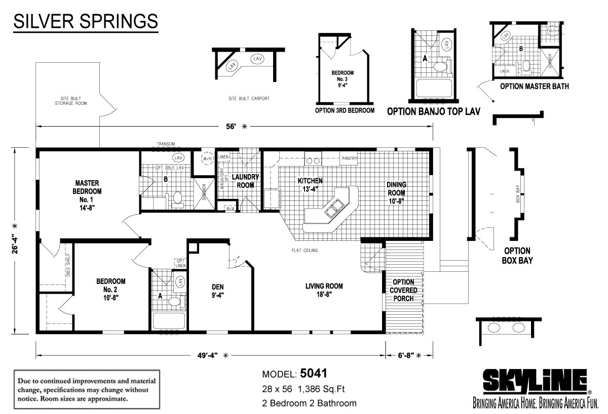 Silver Springs 5041 By Factory Expo Home Center