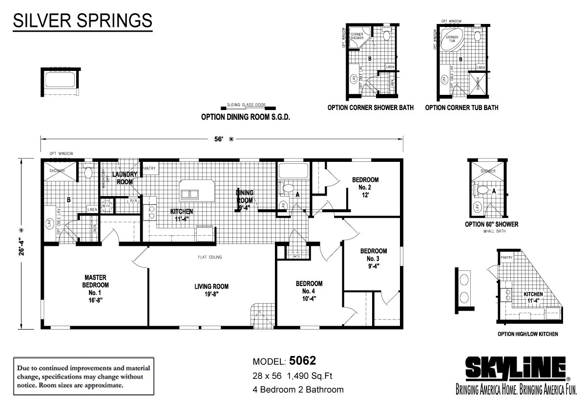 Silver Springs 5062 By Factory Expo Home Center