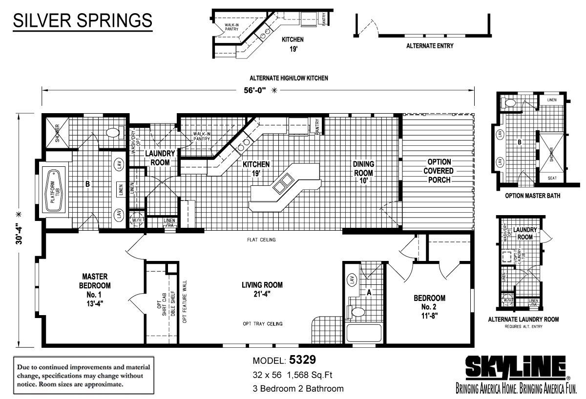 Silver Springs / 5329 by Skyline Homes