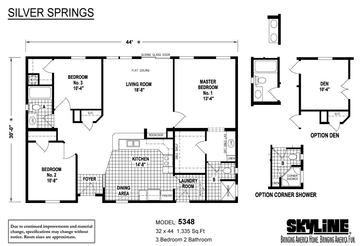 silver springs    5348 by skyline homes