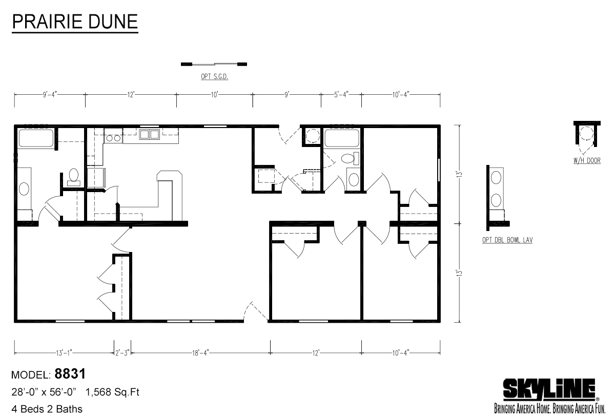 Prairie Dune / 8831 - Layout