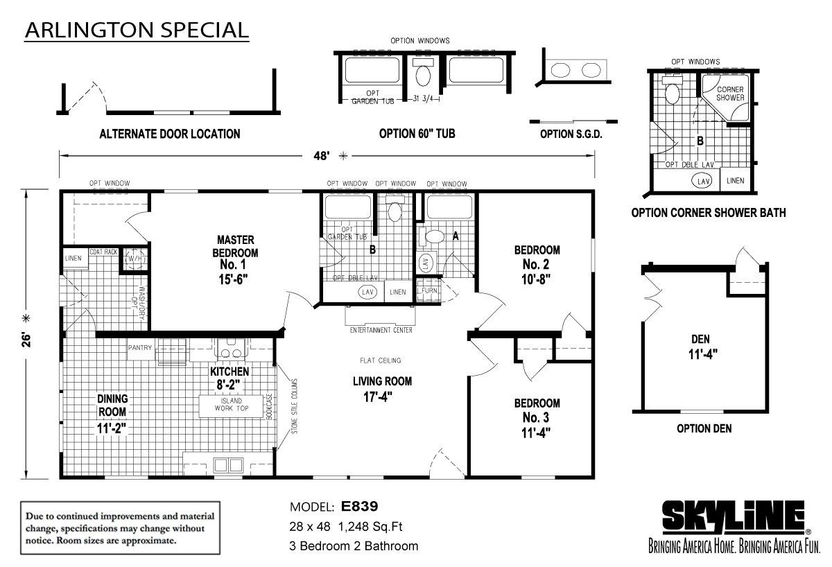 Arlington Special E839 Layout