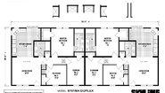 Hillcrest Duplex 9701MA Layout