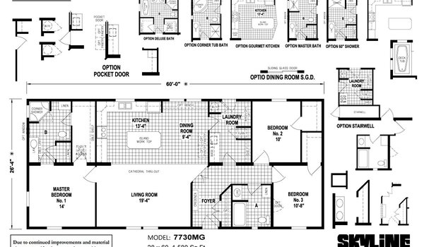 Hillcrest 7730MG by Skyline Homes - ModularHomes com