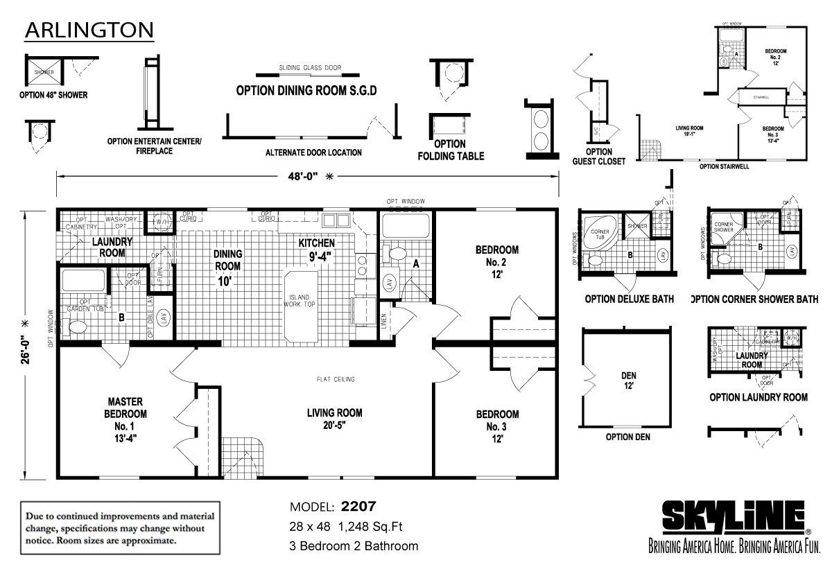 Arlington 2207 by Skyline Homes - ModularHomes com