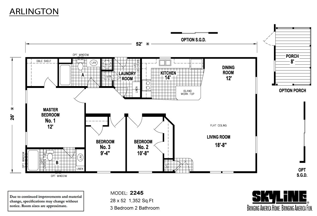 Skyline Manufactured Homes Floor Plans Choice Image Home