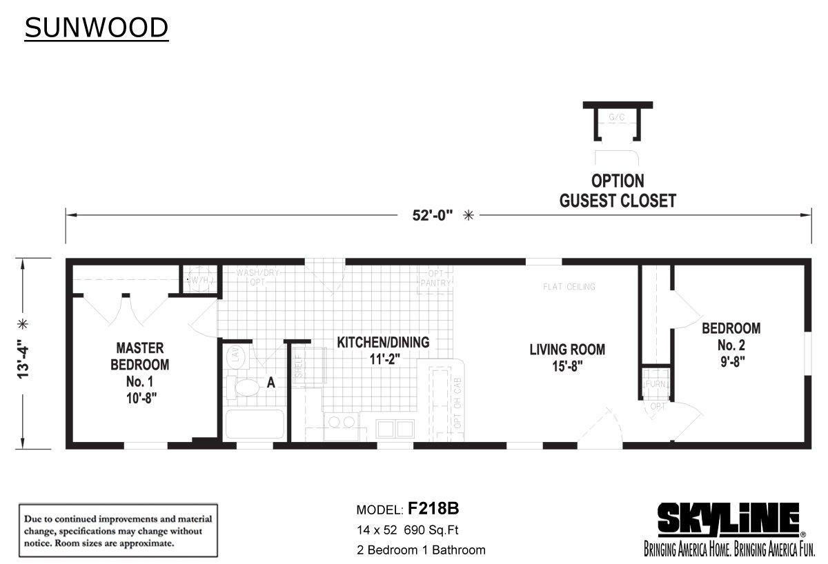 Sunwood - F218B