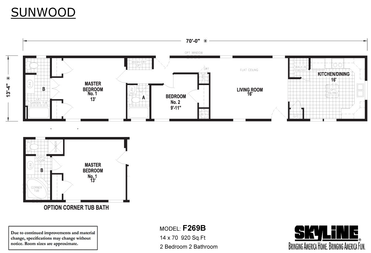 Sunwood F269b By Skyline Homes