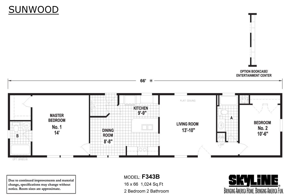 Sunwood F343B Layout