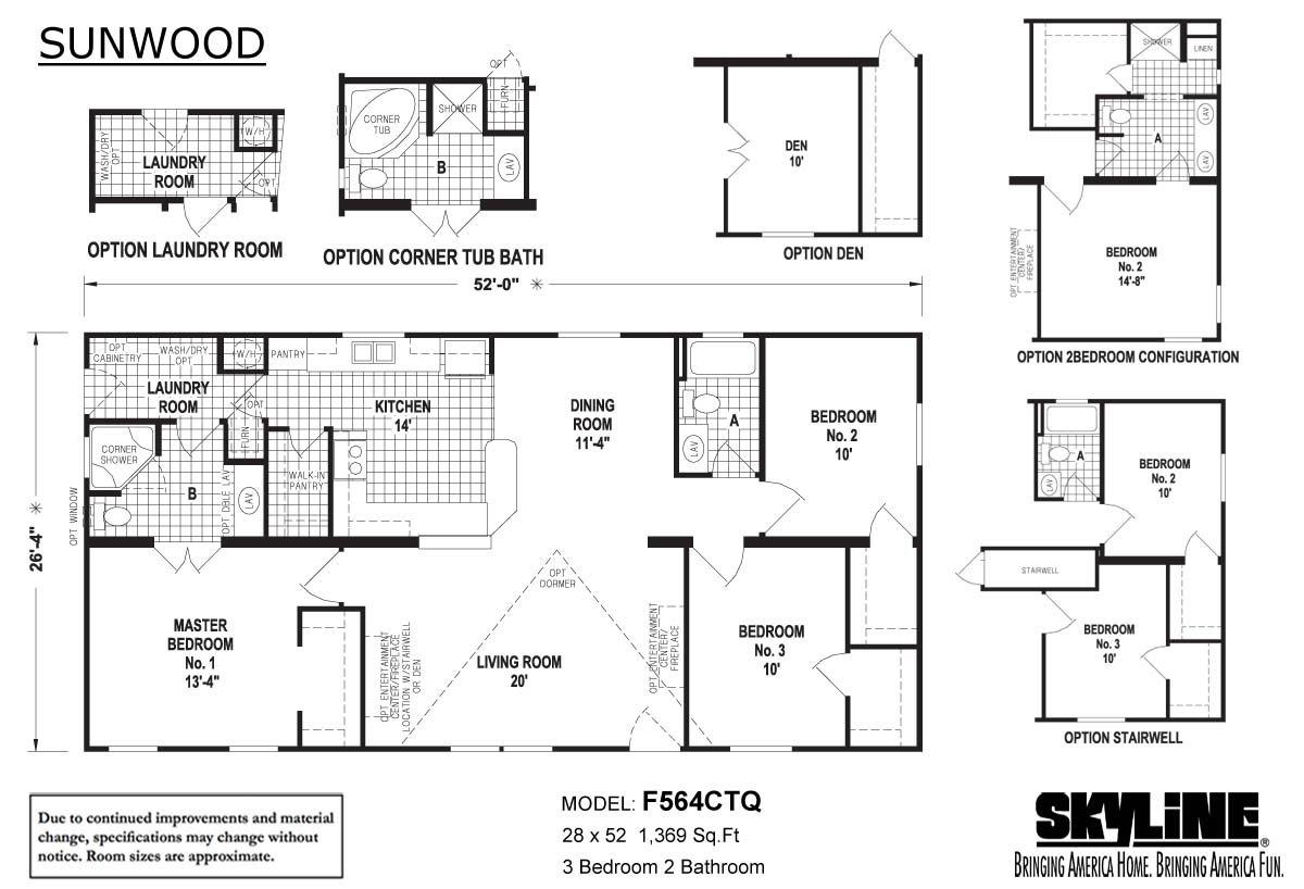 Sunwood / F564CTQ by Skyline Homes