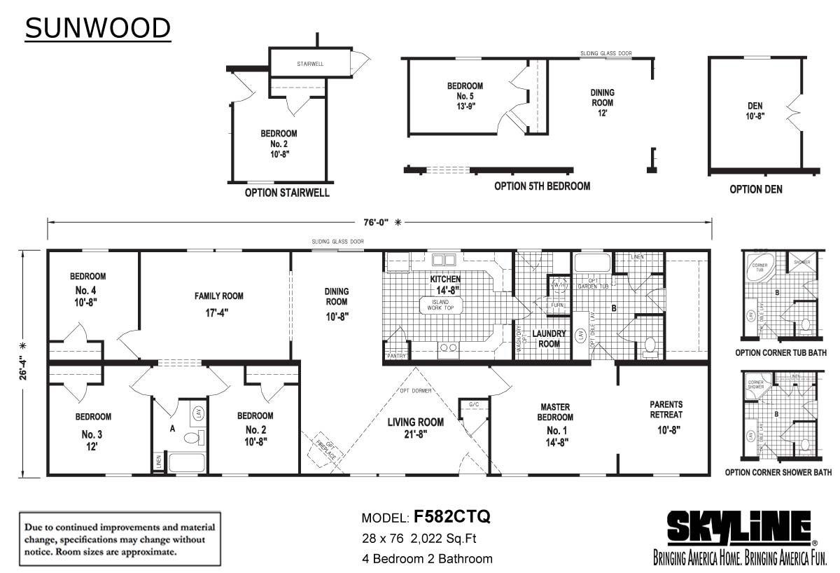 Sunwood - F582CTQ