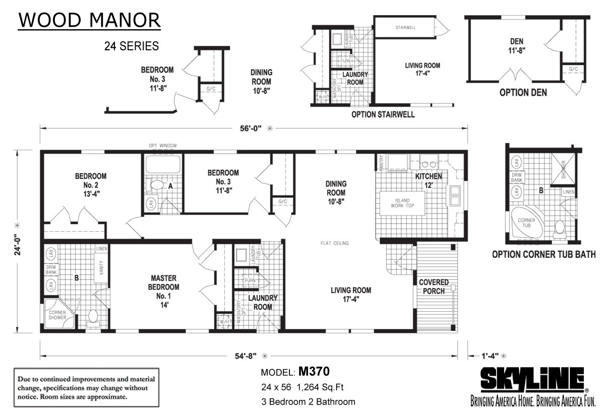 Wood Manor - M370