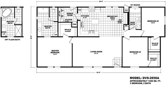 Durango Value / DVS-2856A By Durango Homes By Cavco
