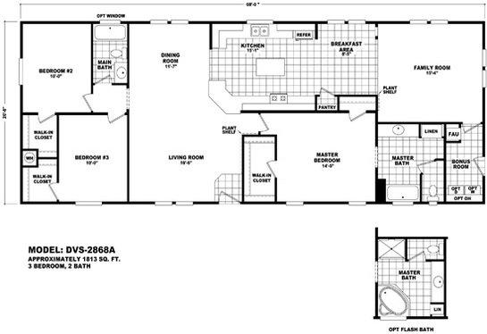 Durango Value / DVS-2868A By Durango Homes By Cavco