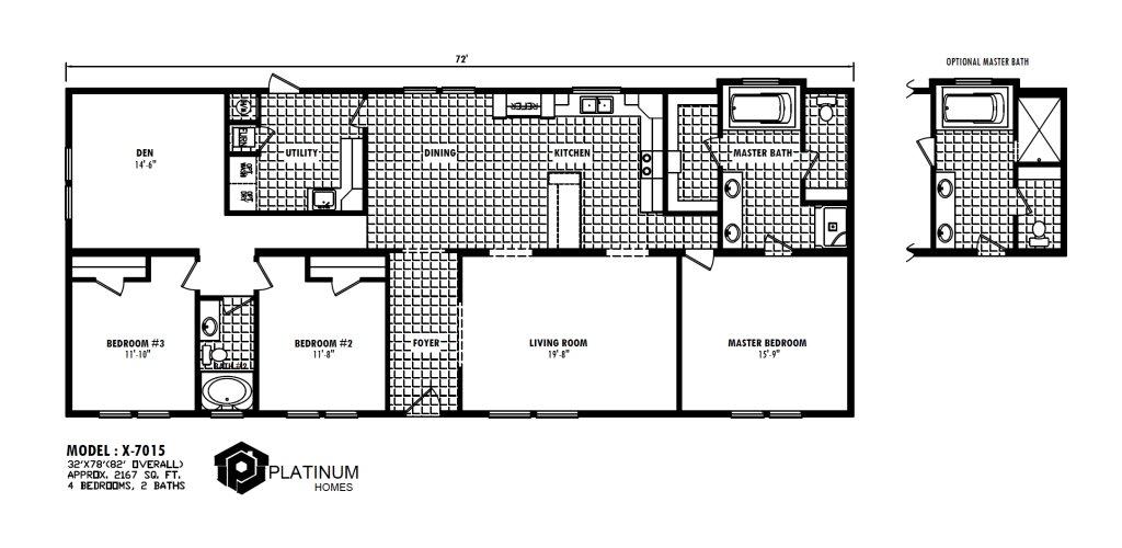 X The Jackson X 7015 By Platinum Homes