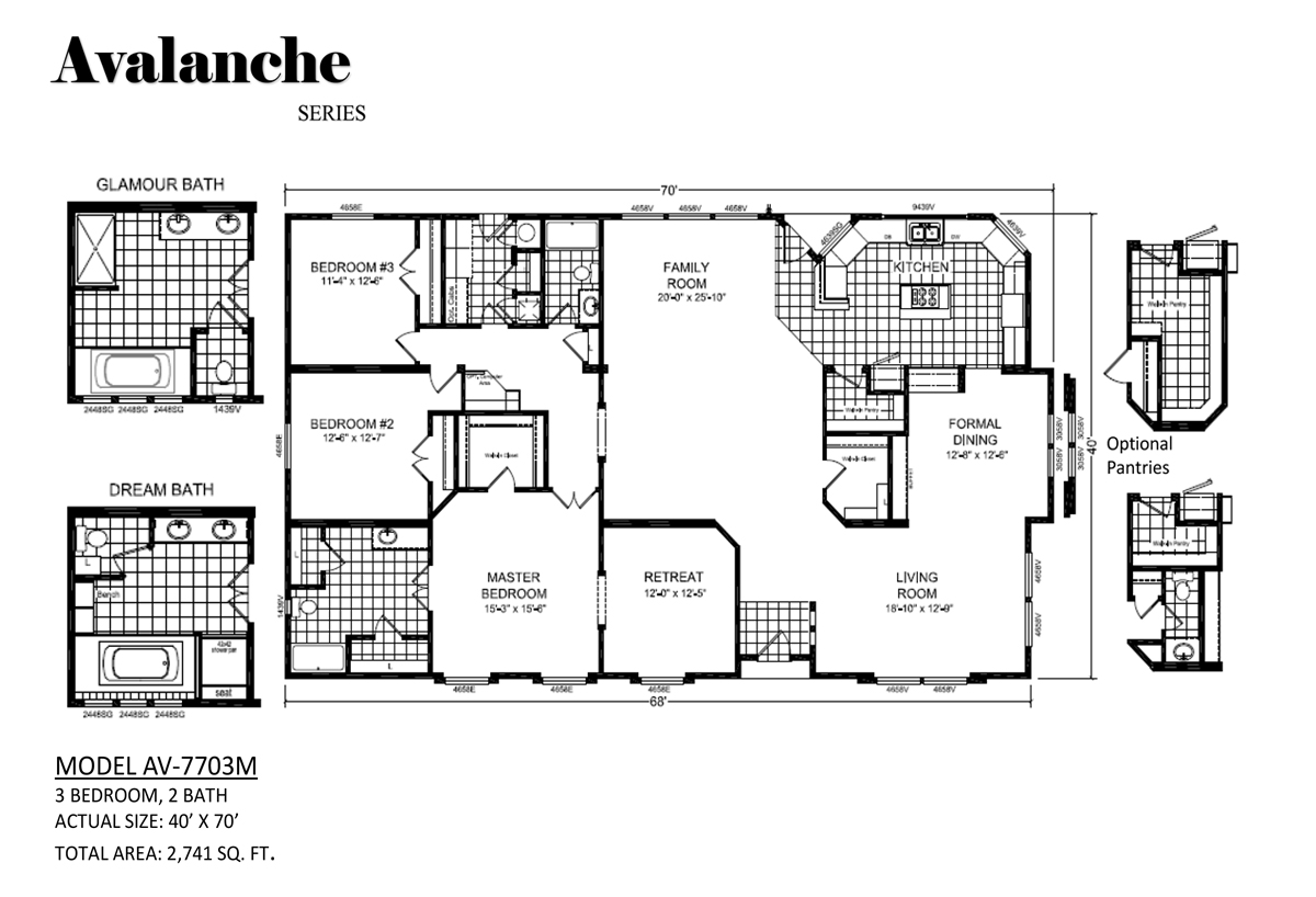 Avalanche Av 7703m By Westwind Homes