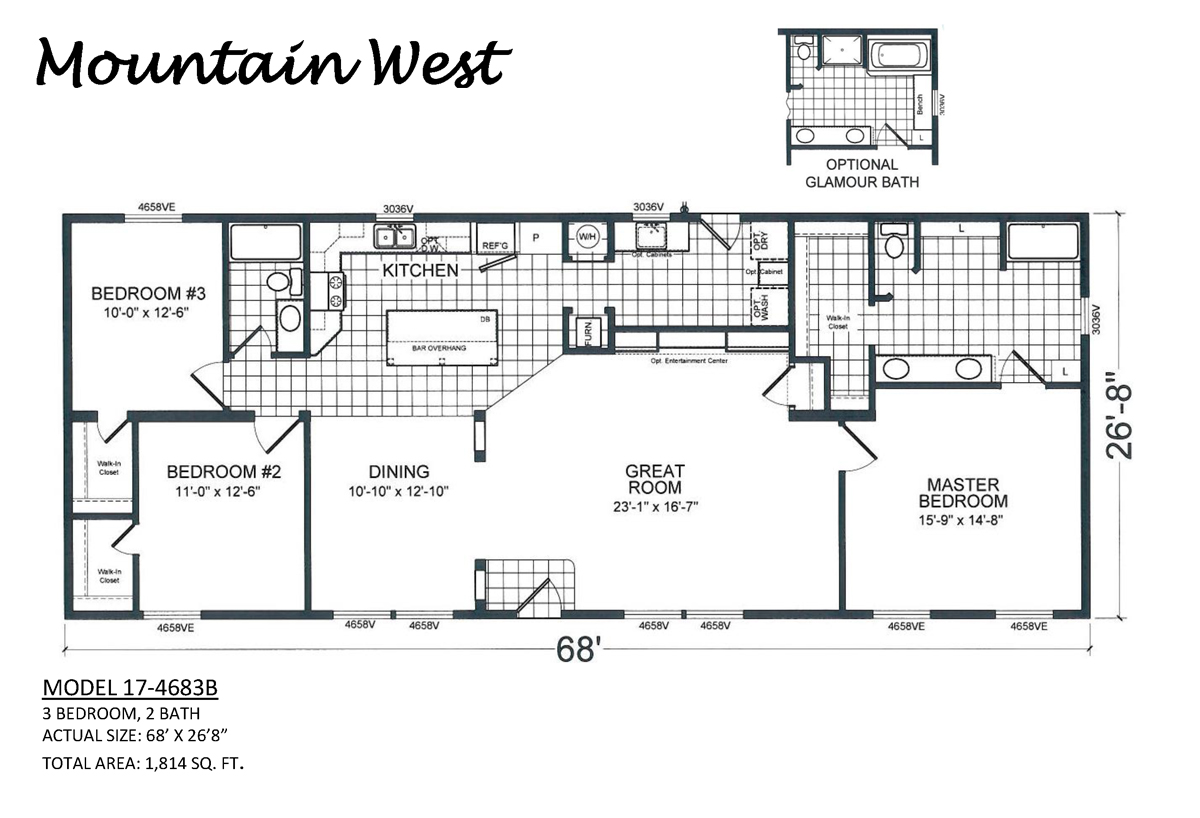 Carefree Homes in West Valley City Utah Manufactured Home Dealer – Carefree Homes Floor Plans