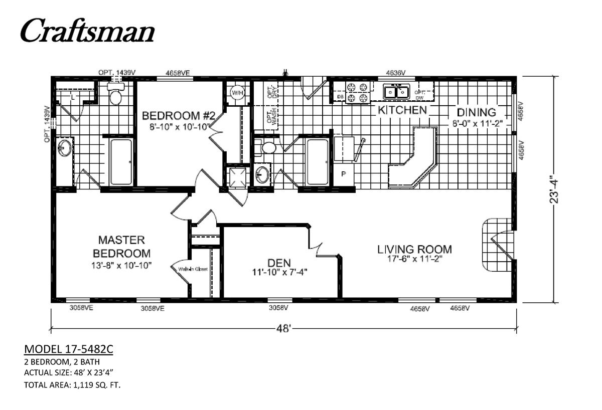 Craftsman 17 5482c By Champion Homes