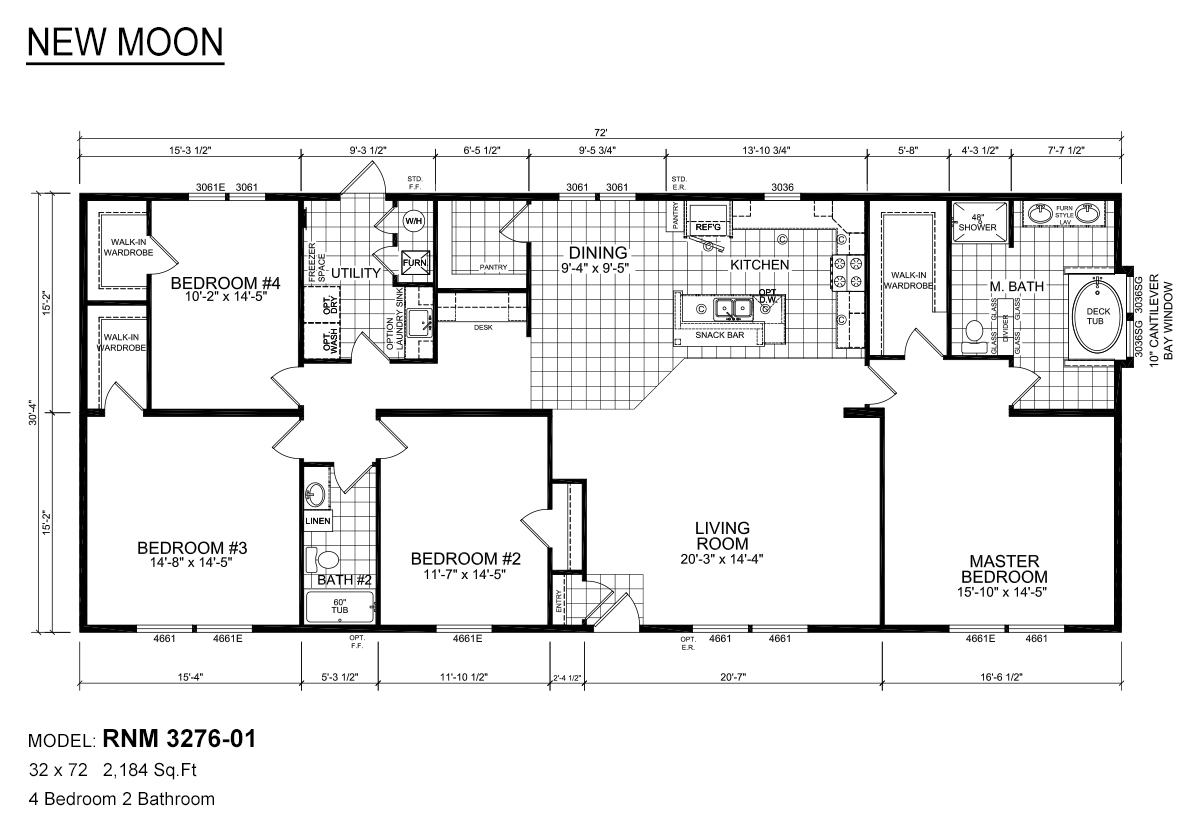 1 Beds 1 Baths 440 Sq Ft Plan 924 7: Redman Homes Topeka In Topeka, IN