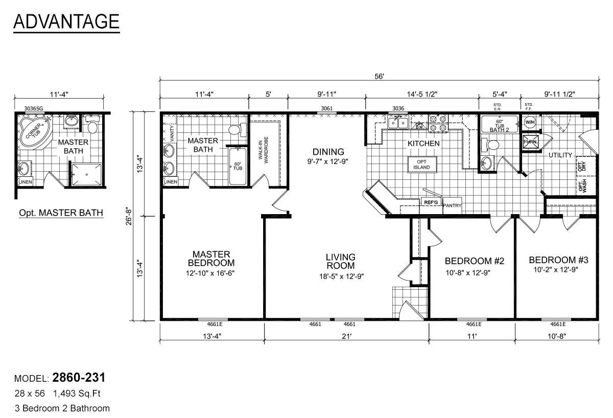 Advantage Sectional - 2860-231