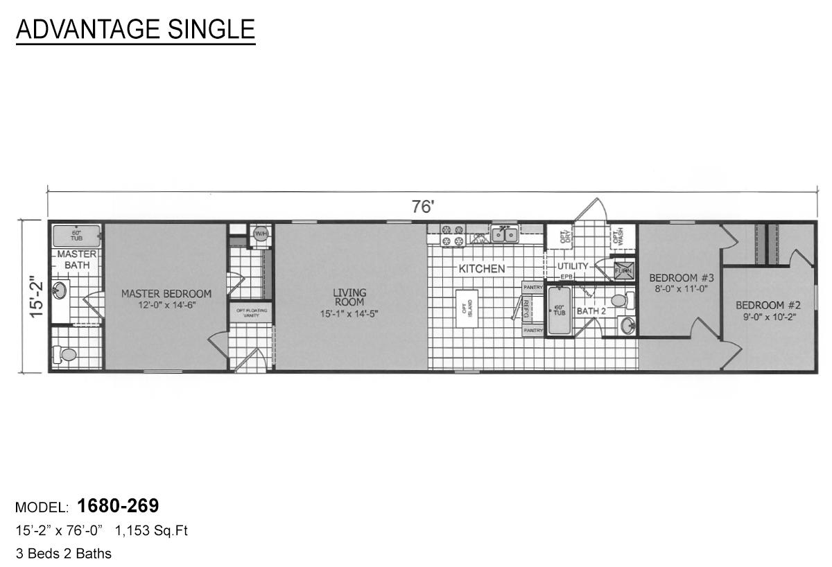 Advantage Single - 1680-269