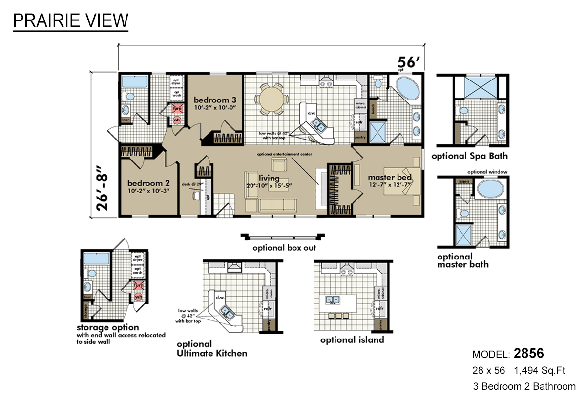 Highland manufactured homes floor plans for Floor plans for my home