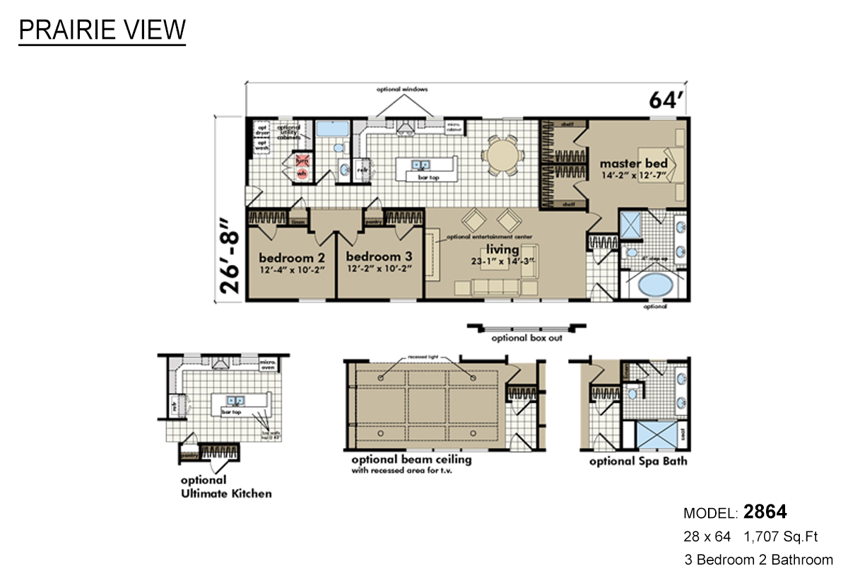 Highland manufacturing in worthington mn manufactured for Mn home builders floor plans