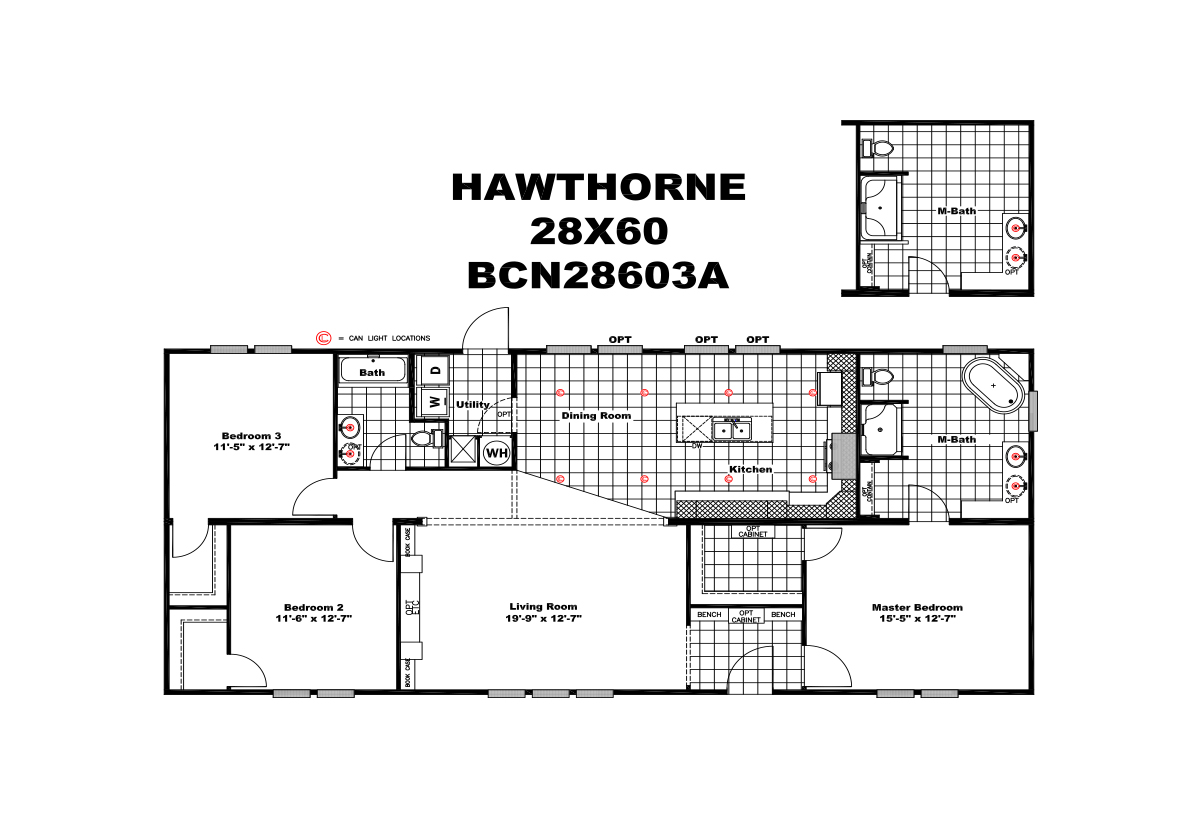 Icon Series The Hawthorne Layout
