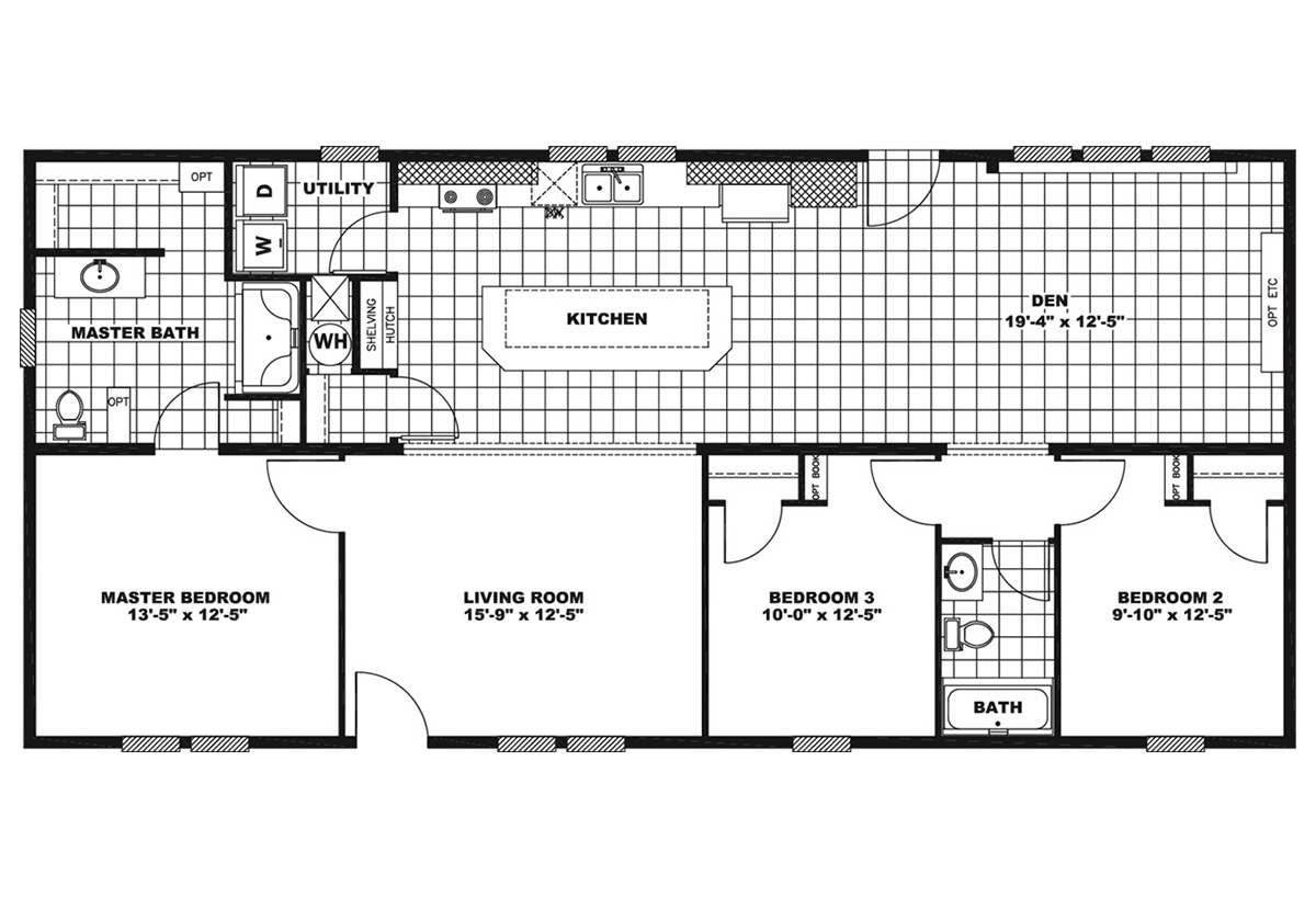 Giles Series Lodge Layout