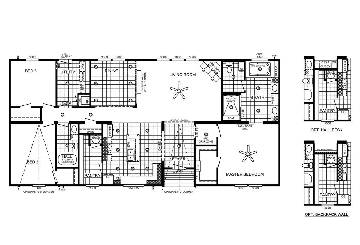 Southern energy homes in addison al manufactured home for Southern energy homes floor plans