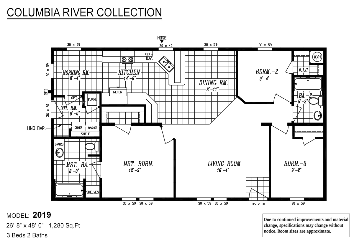 columbia river collection    2019 by marlette homes