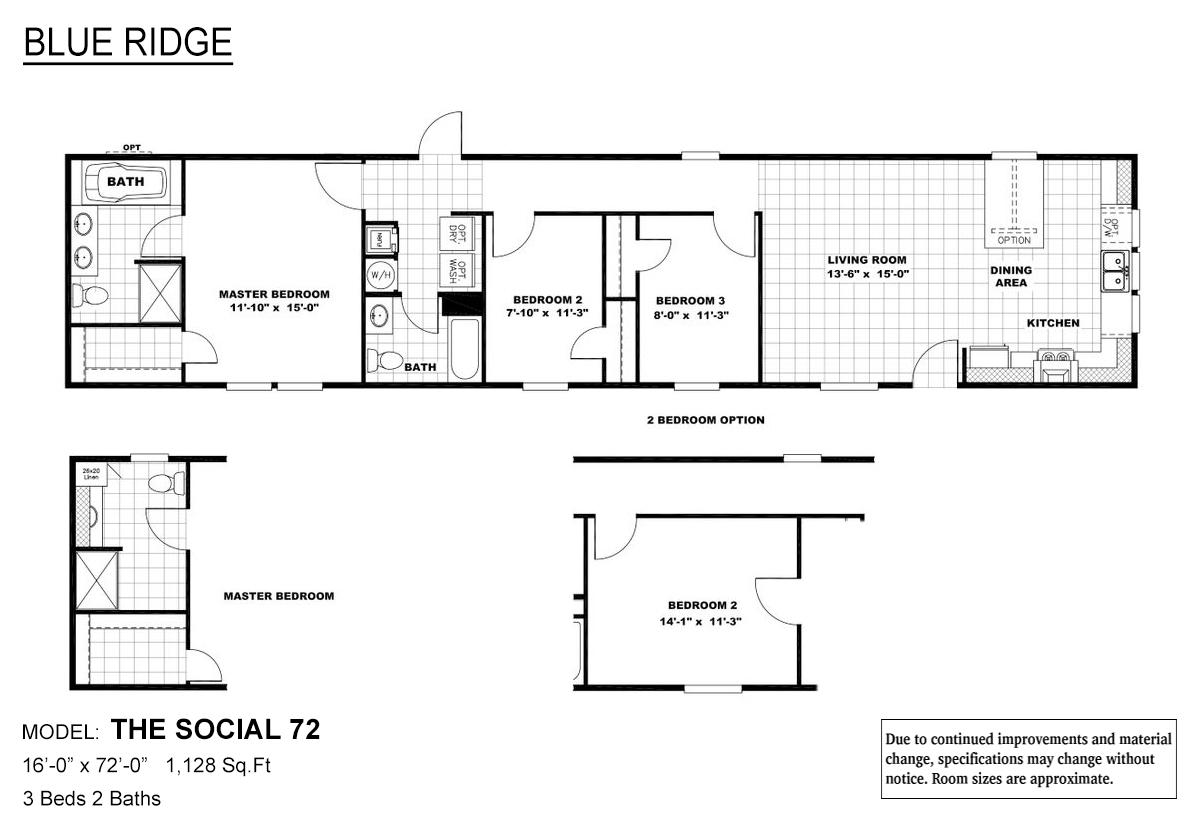 Blue Ridge The Social 72 Layout