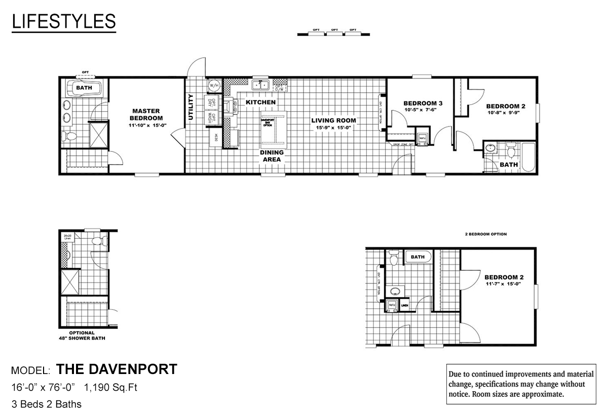Lifestyles The Davenport Layout