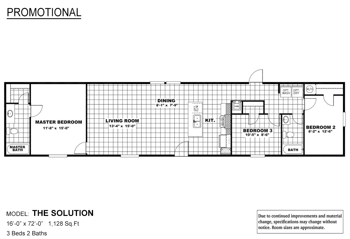 Promotional The Solution Layout