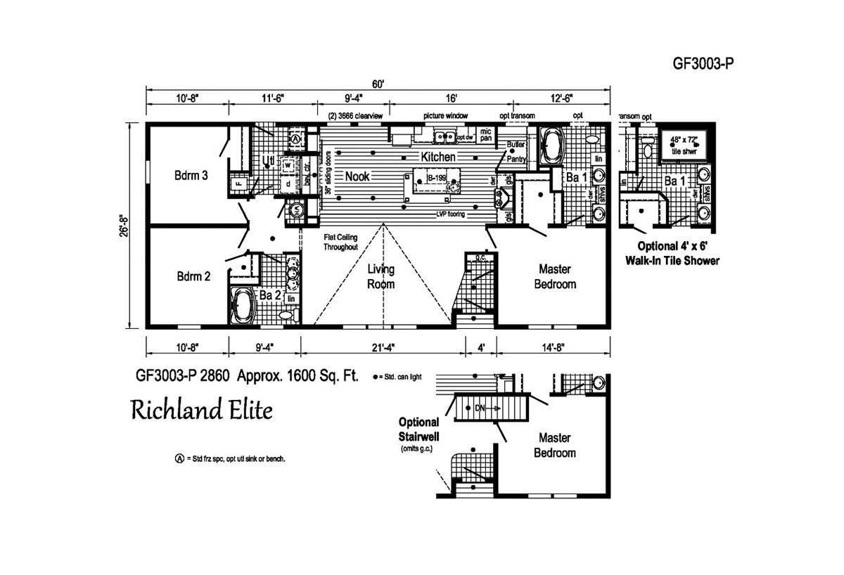 Richland Elite Ranch - GF3003-P