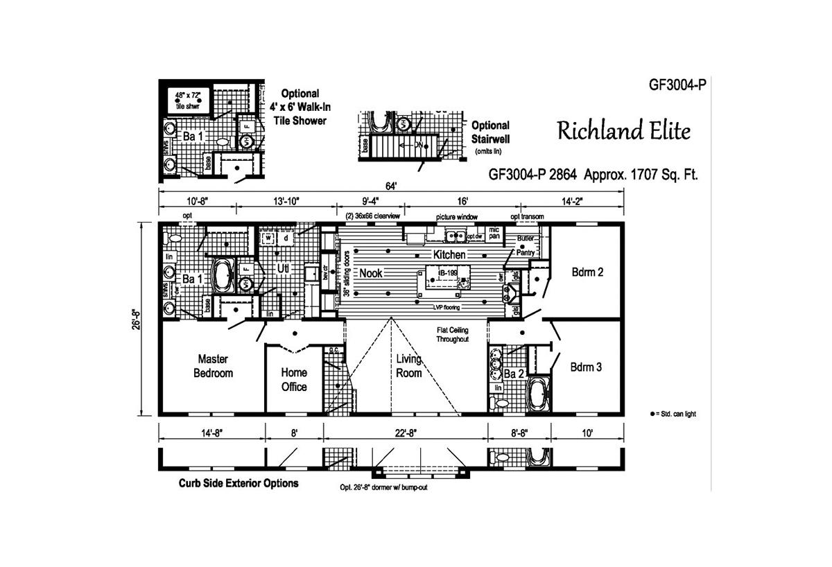 Richland Elite Ranch - GF3004-P