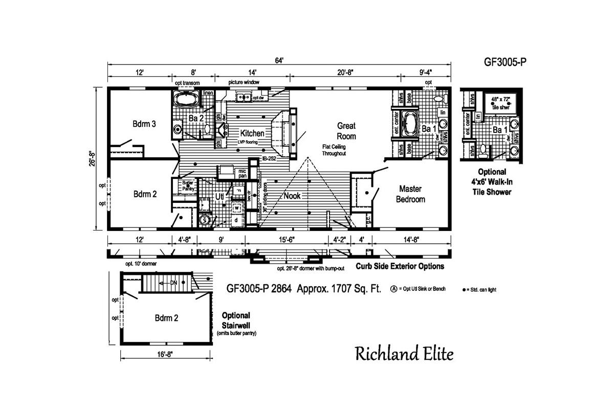 Richland Elite Ranch - GF3005-P
