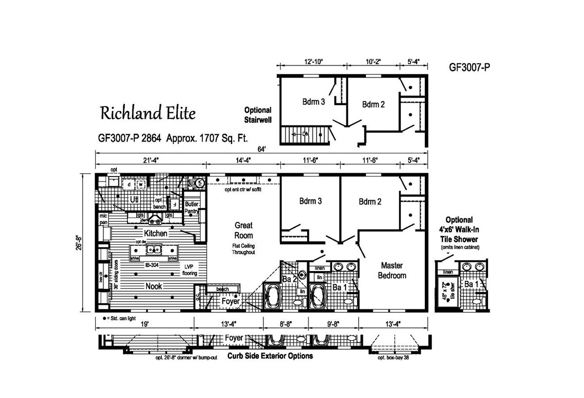 Richland Elite Ranch - GF3007-P