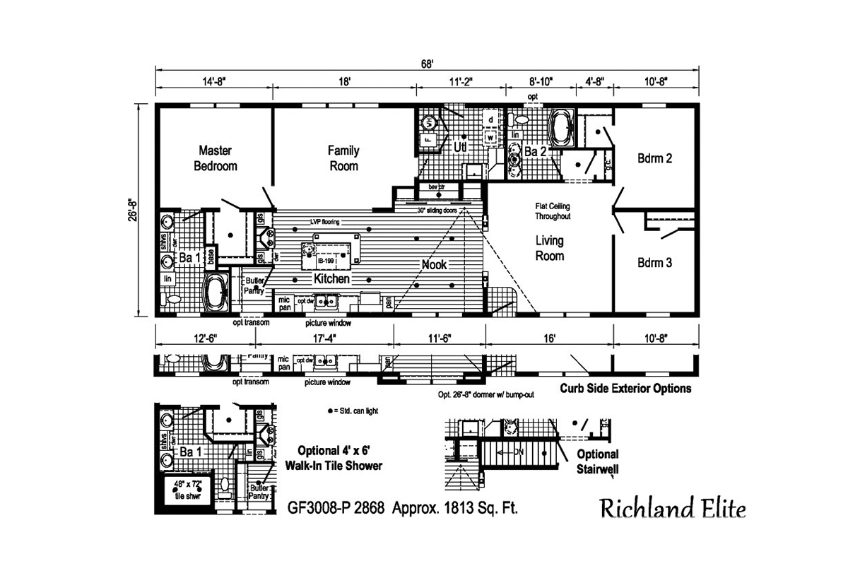 Richland Elite Ranch - GF3008-P