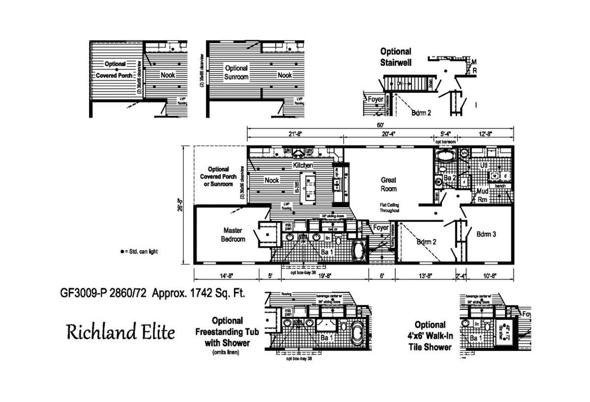 Richland Elite Ranch - GF3009-P