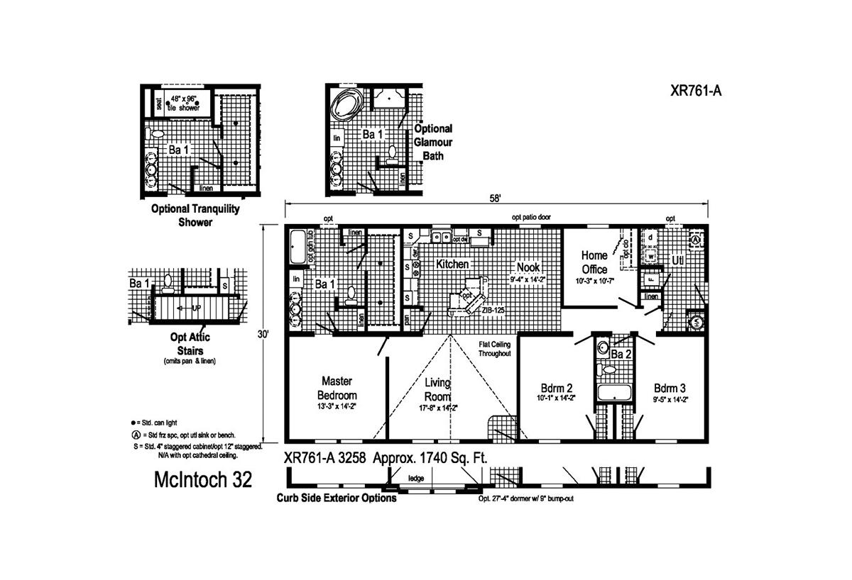 Grandville LE Ranch McIntoch - 32 Layout