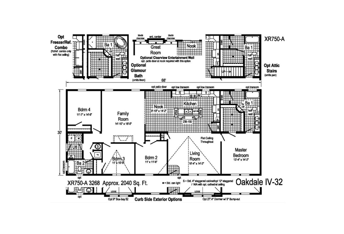 Grandville LE Ranch Oakdale IV - 32 Layout
