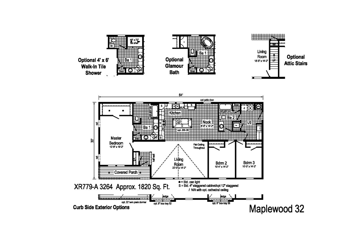 Grandville LE Ranch Maplewood 32 Layout