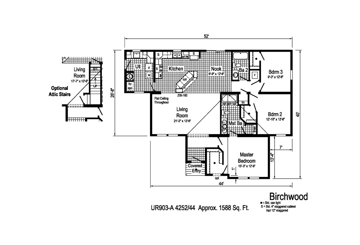Grandville LE Ranch Birchwood Layout