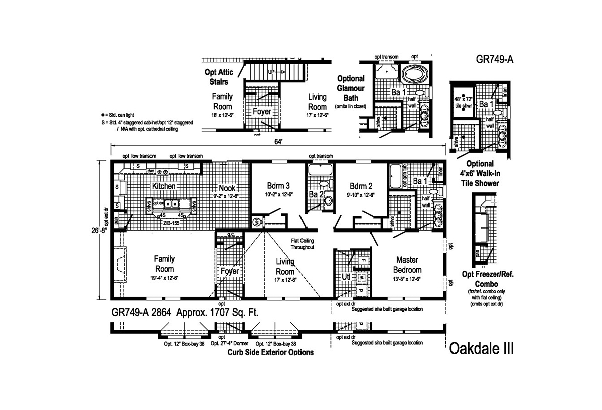 Grandville LE Ranch Oakdale III Layout
