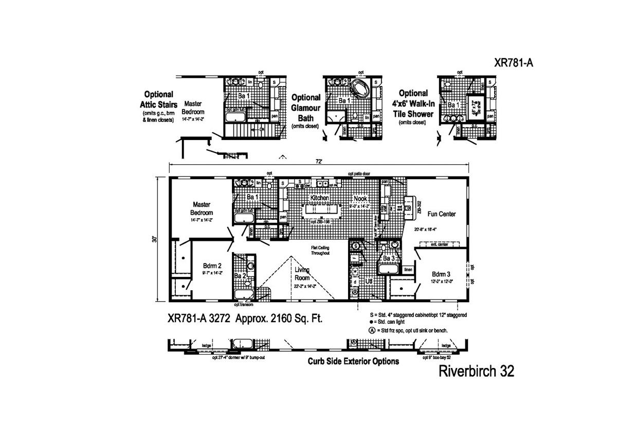 Grandville LE Ranch - Riverbirch XR781A