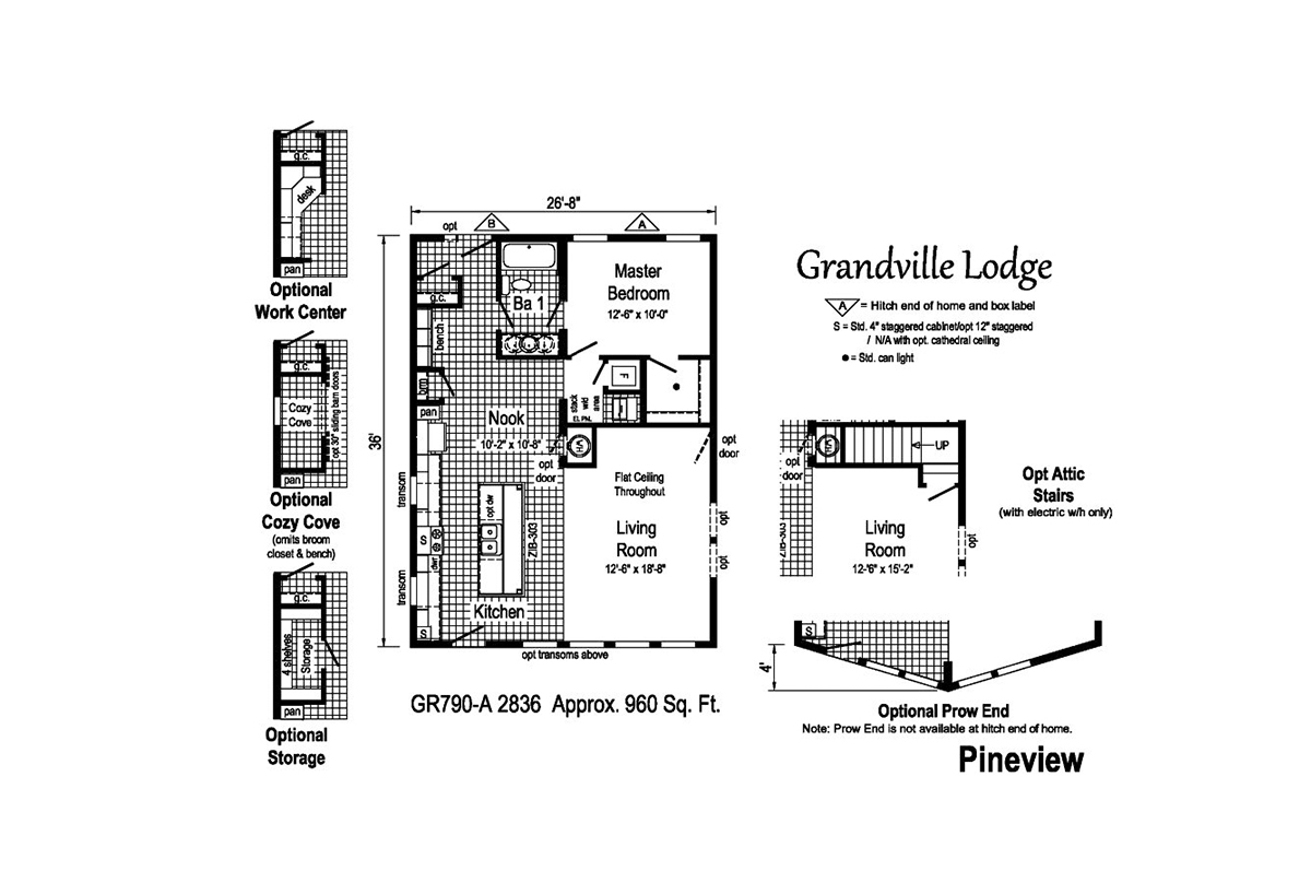 Grandville LE Ranch Pineview Layout