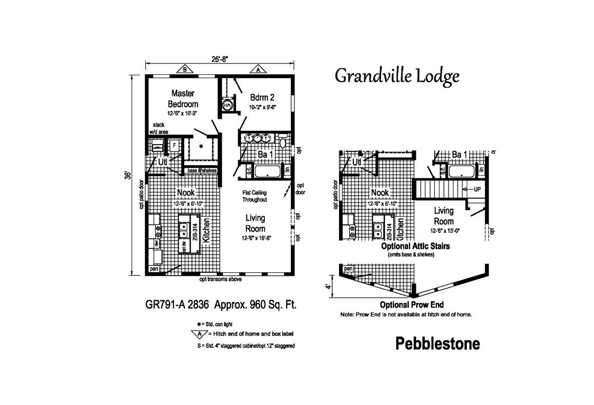 Grandville LE Ranch - Pebblestone