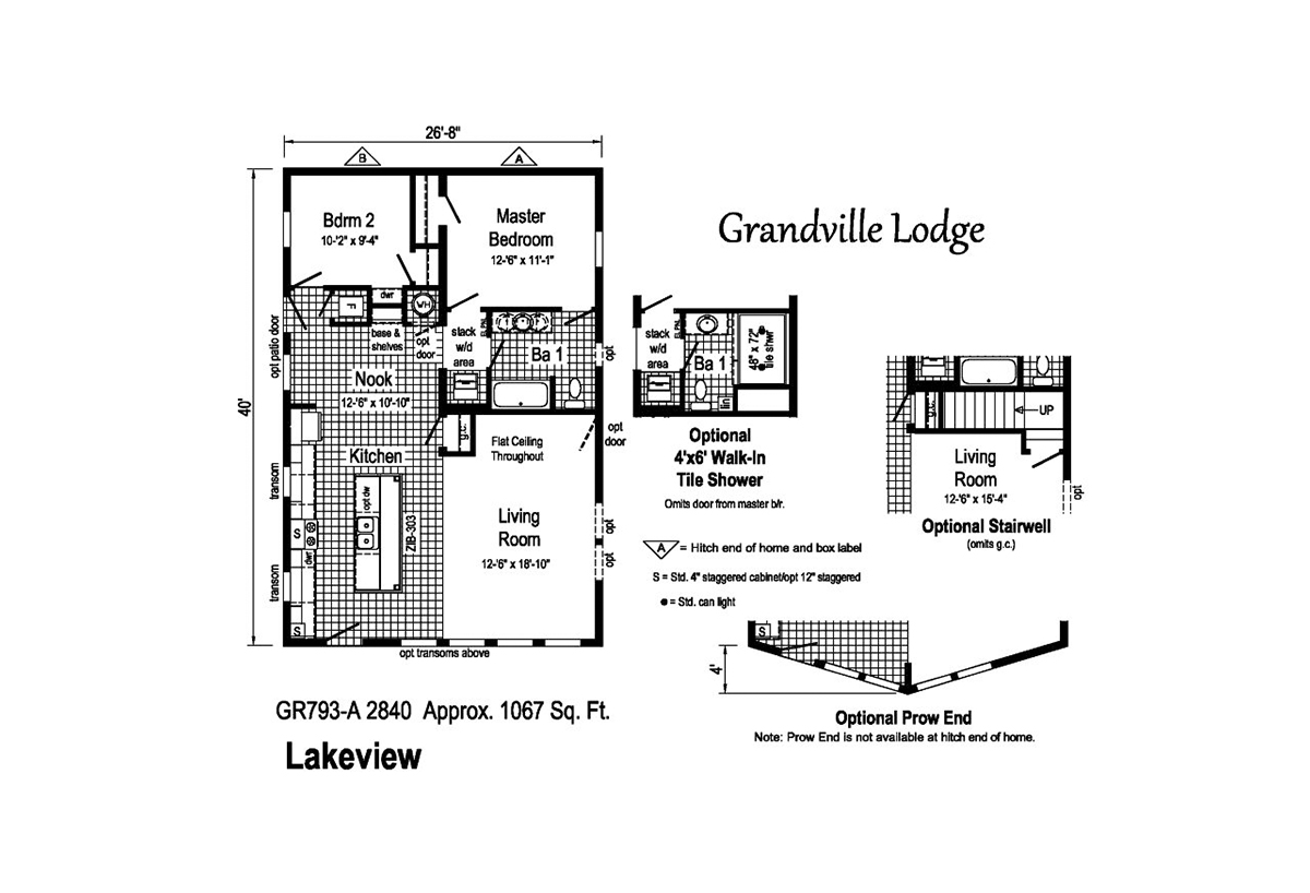 Grandville LE Ranch / Lakeview by Commodore Homes on ranch home plans with 3 car garage, ranch home plans with 2 car garage, ranch home plans with loft,