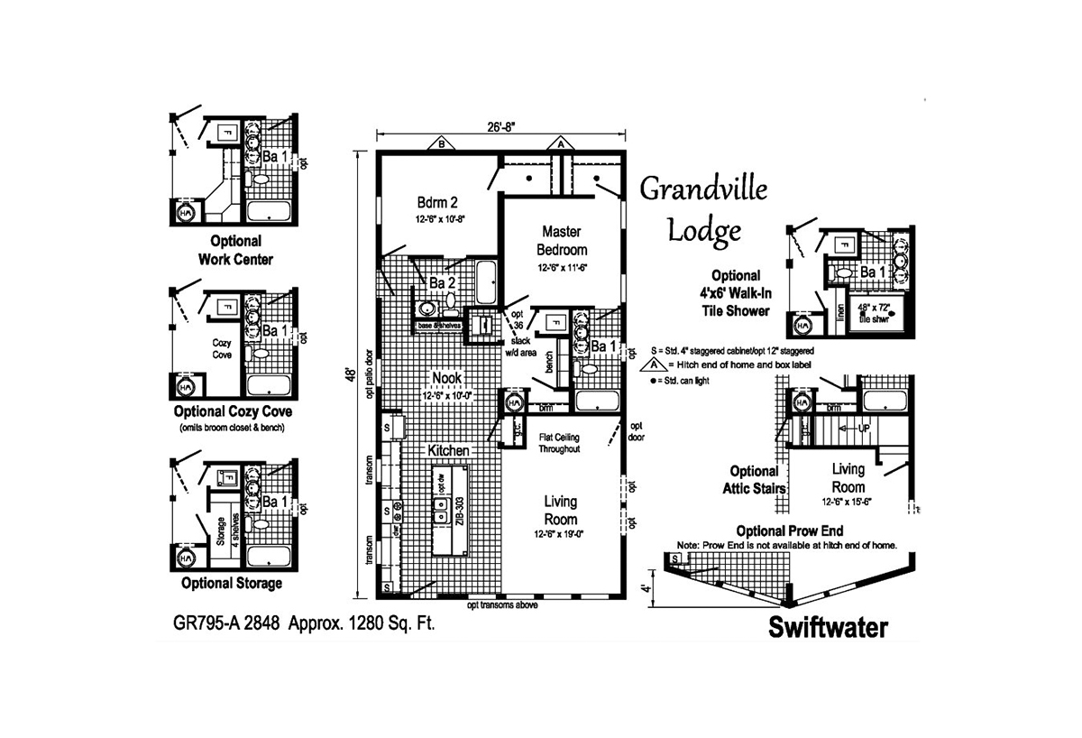 Grandville LE Ranch Swiftwater Layout